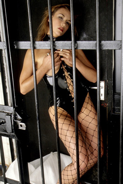 submissive caged sex slave