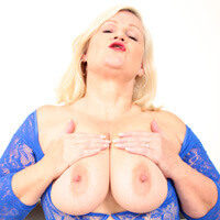 Lacey Starr with her Tits out