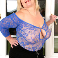 Gilf Lacey Starr in Stockings