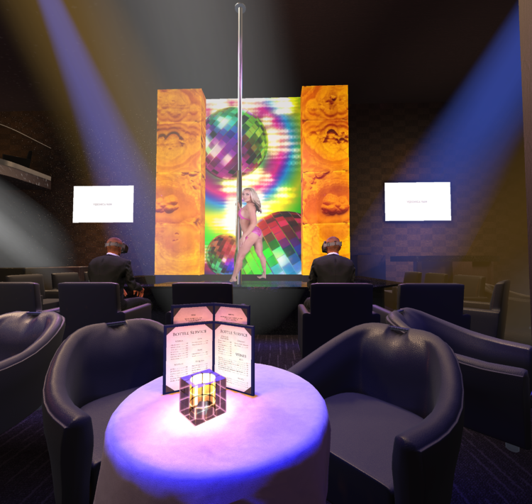 VRClubz Virtual Reality strip club