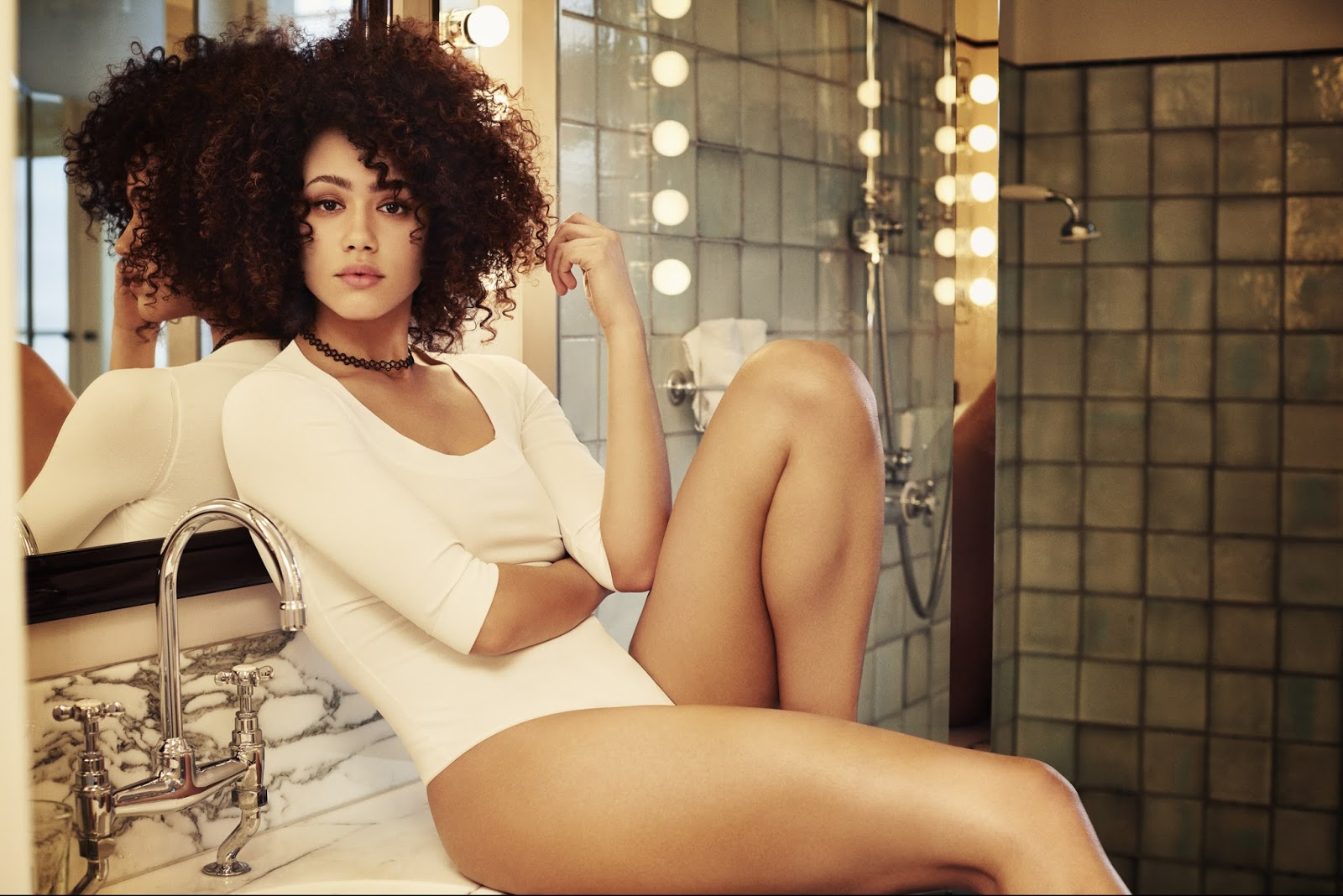 Nathalie Emmanuel - sexiest babes from Game of Thrones
