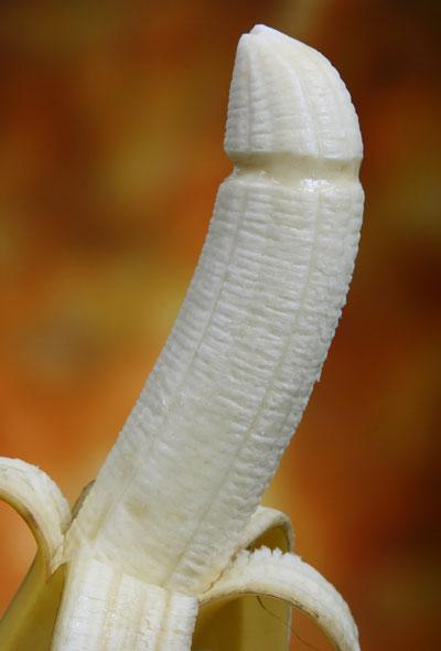 banana cock cumshot